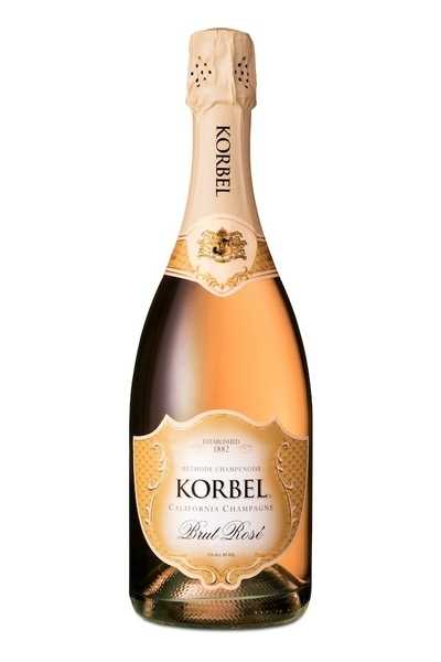 Korbel-Brut-Rosé-California-Champagne