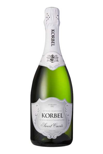 Korbel-Sweet-Cuvée-California-Champagne