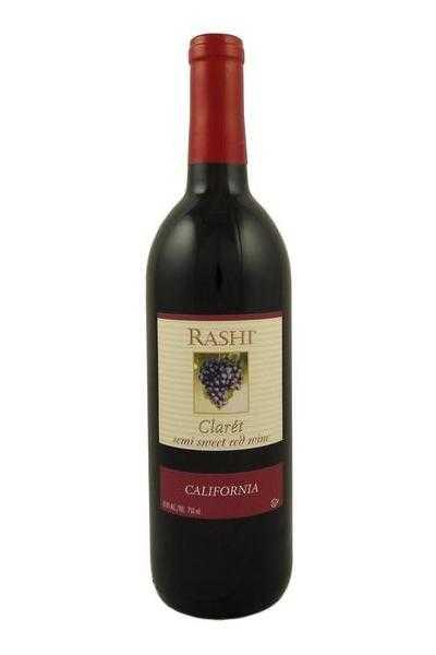 Rashi-Claret-California