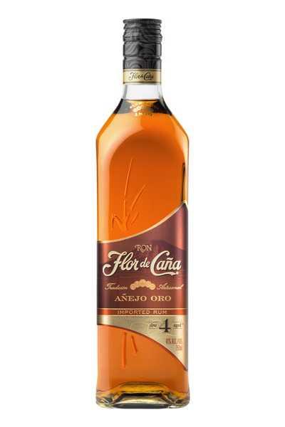 Flor-de-Caña-4-Year-Old-Gold-Rum-Añejo-Oro