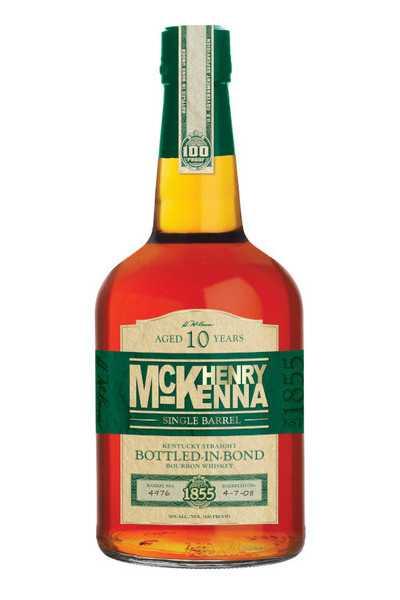 Henry-McKenna-Single-Barrel-Bourbon,-10-Year,-Bottled-in-Bond