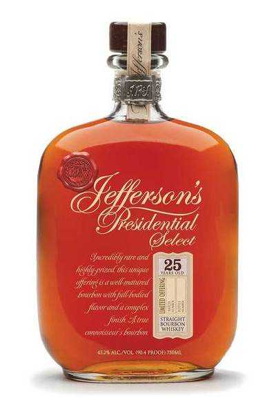 Jefferson's-Presidential-Select-18-Year