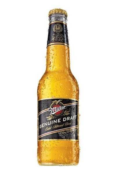 Miller-Genuine-Draft-Beer,-American-Lager