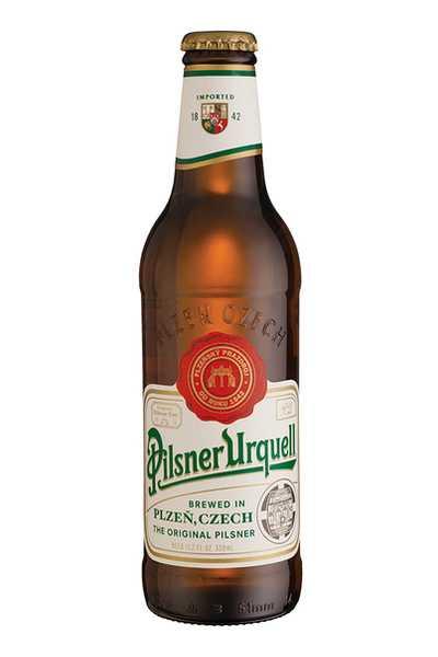 Pilsner-Urquell-Beer