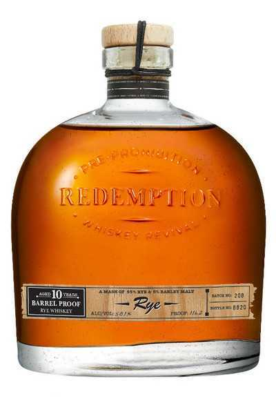 Redemption-10-Year-Old-Barrel-Proof-Rye