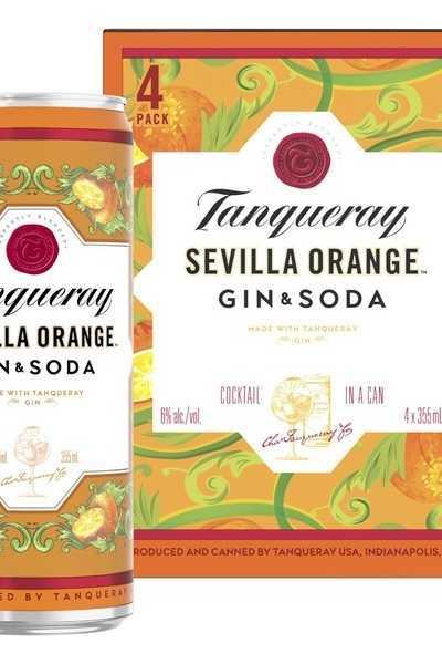 Tanqueray-Sevilla-Orange-Gin-&-Soda-Cans